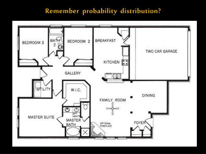 Remember  probability  distribution?