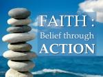 faith belief through action