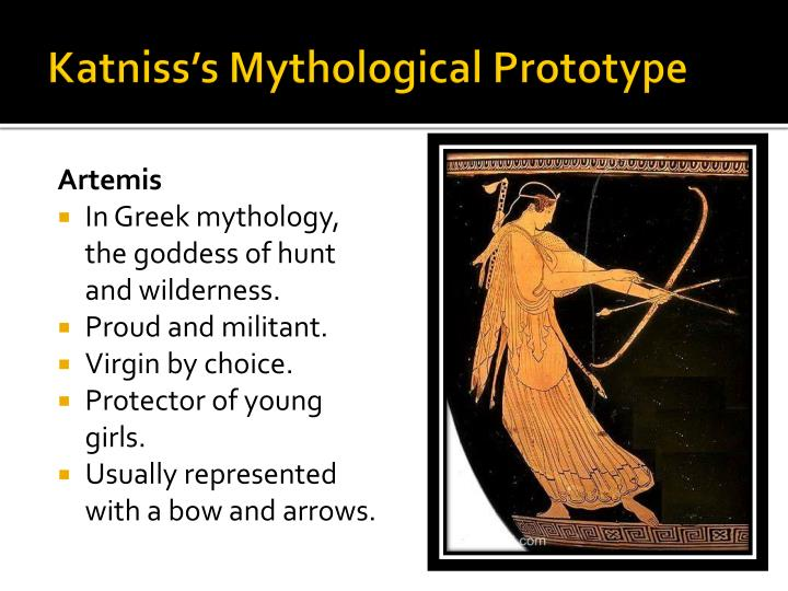 Katniss s mythological prototype