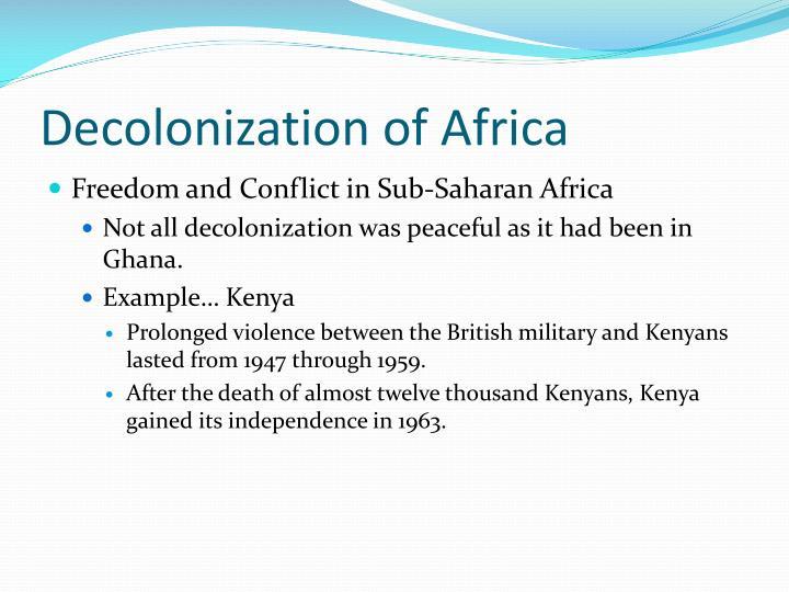 Decolonization of Africa