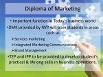 diploma o f marketing