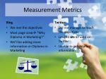 measurement metrics1