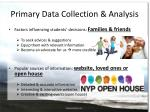 primary data collection analysis1