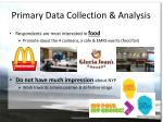primary data collection analysis2