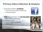 primary data collection analysis3