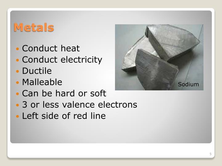 Conduct heat