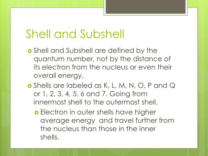 Shell and