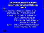 implement evidence based interventions with all tobacco users1