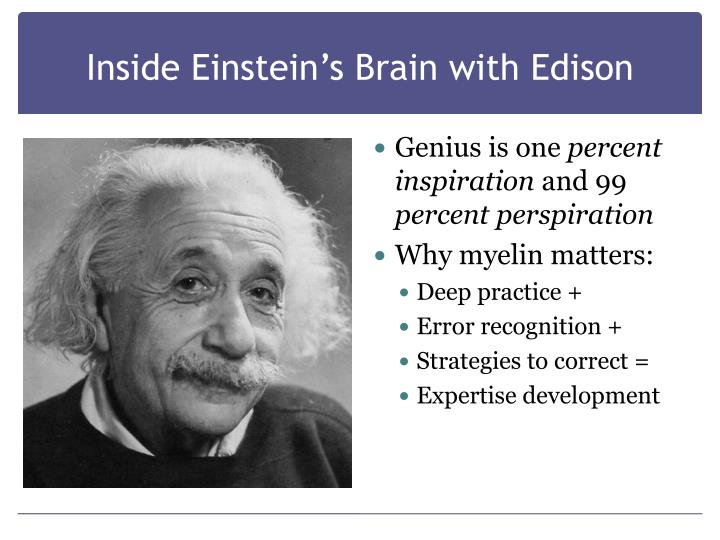 Inside Einstein's Brain with Edison