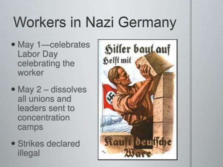 Workers in Nazi Germany