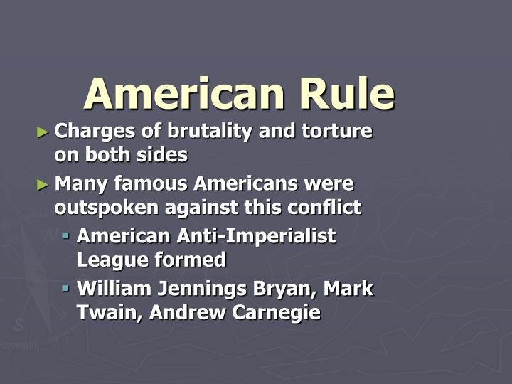 American Rule