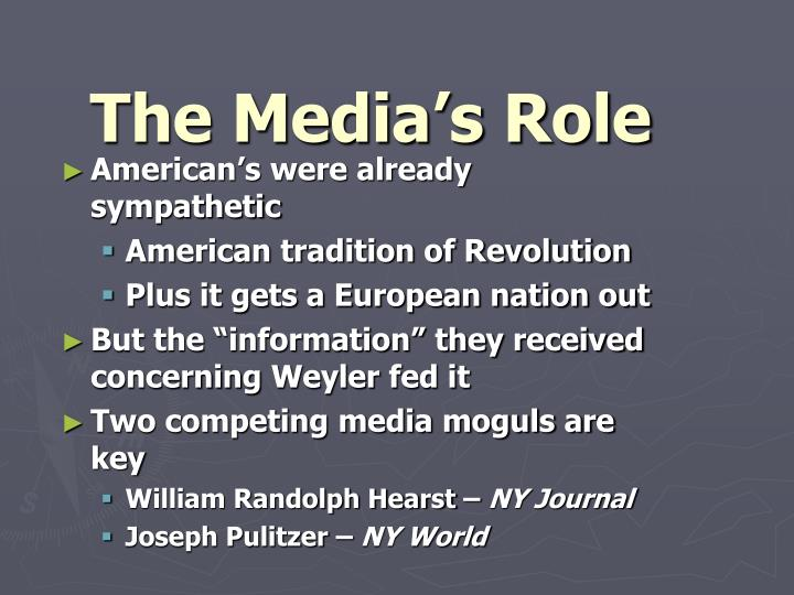 The Media's Role