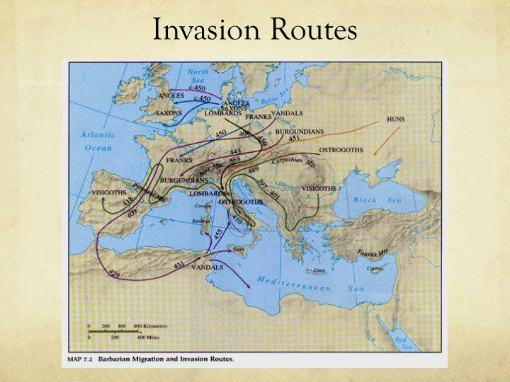 Invasion Routes