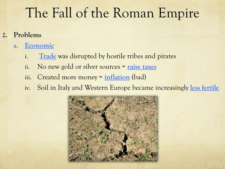 The fall of the roman empire1