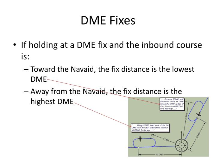 DME Fixes