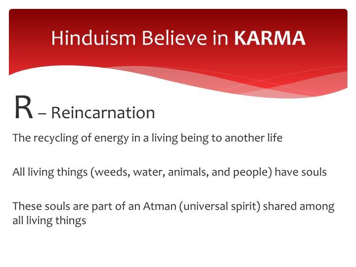 Hinduism Believe in
