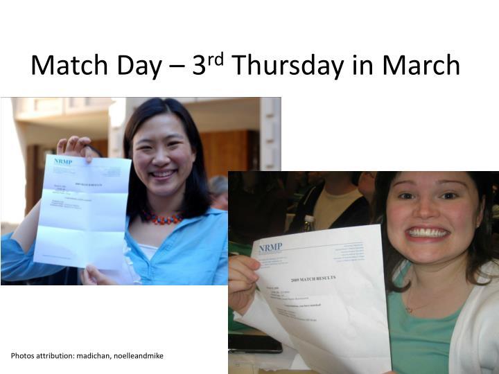 Match Day – 3