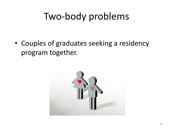 Two-body problems