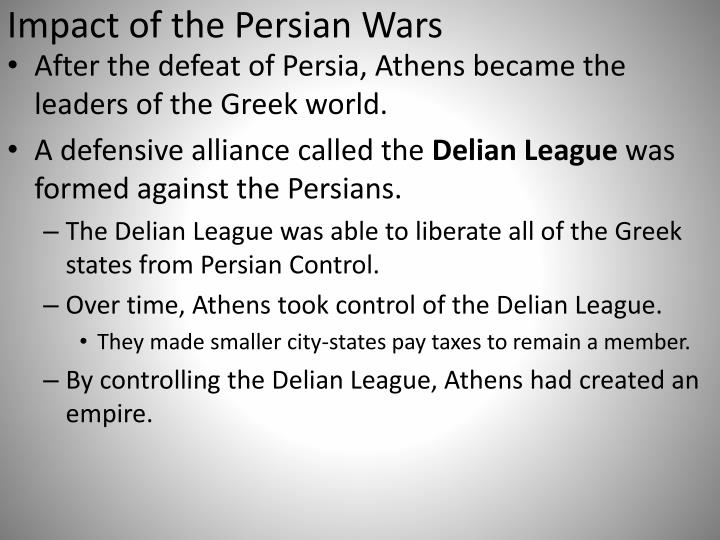 Impact of the Persian Wars