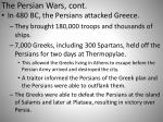 the persian wars cont