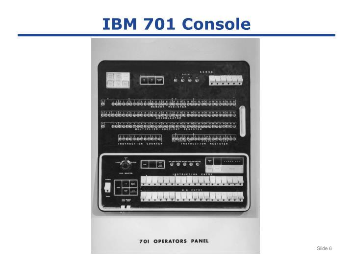IBM 701 Console