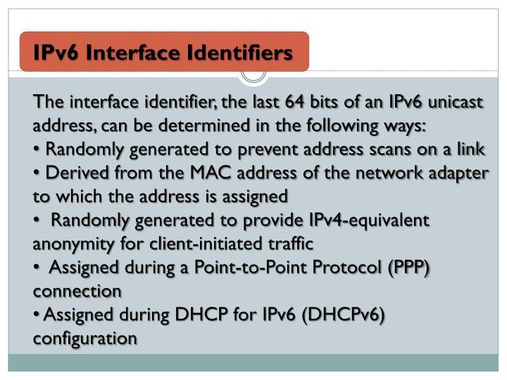 IPv6 Interface