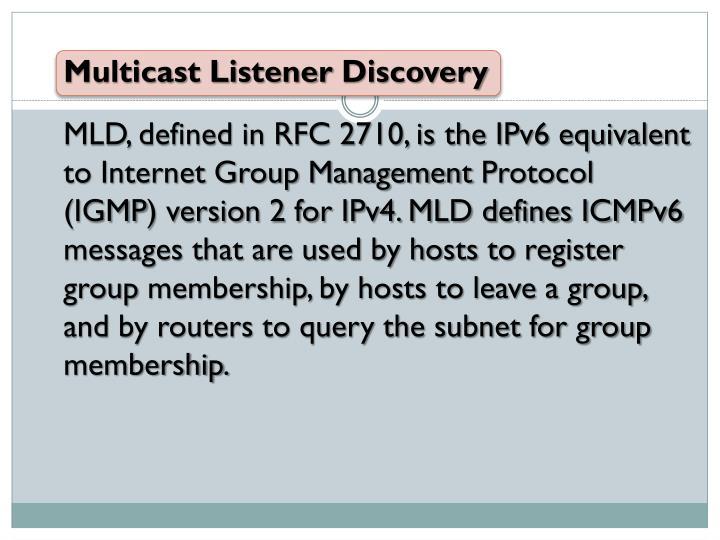 Multicast Listener
