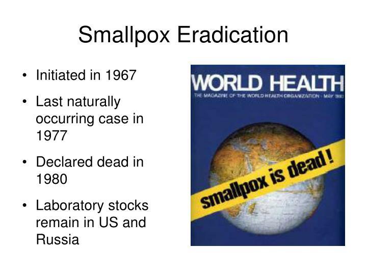 Smallpox Eradication