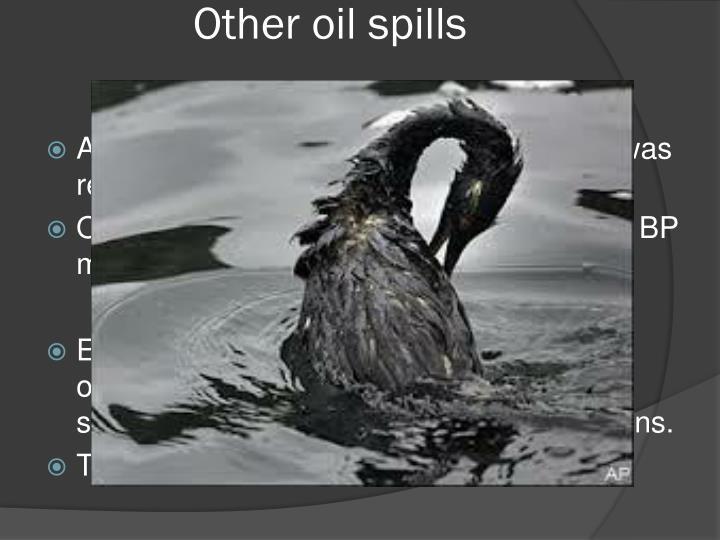 Other oil spills