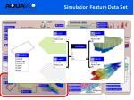 simulation feature data set