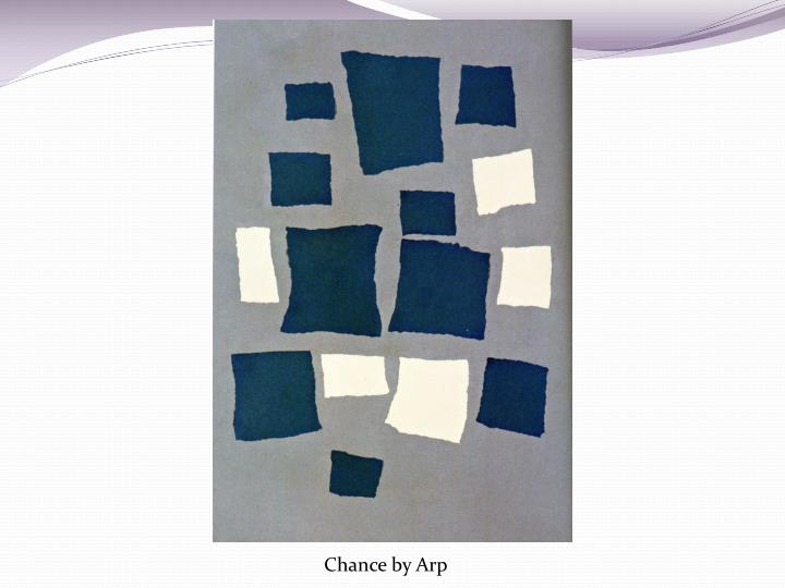 Chance by Arp