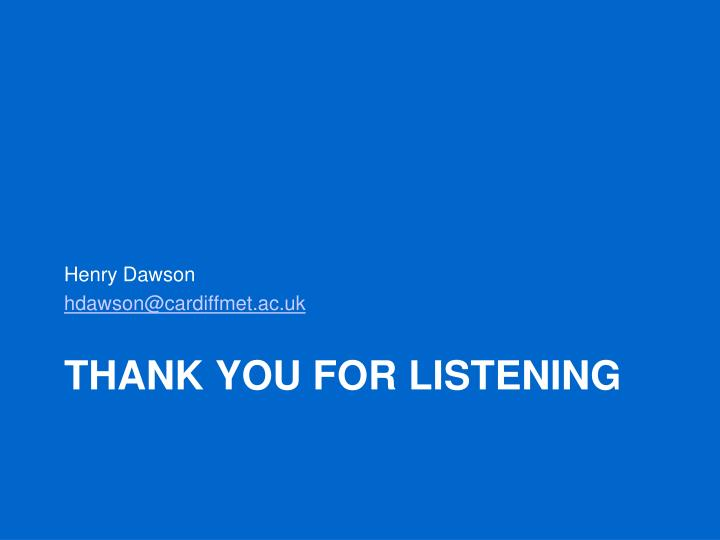 Henry Dawson