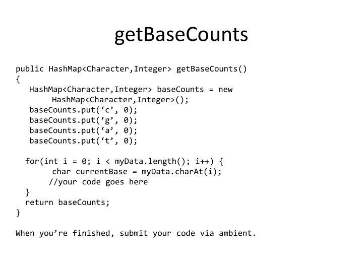 getBaseCounts
