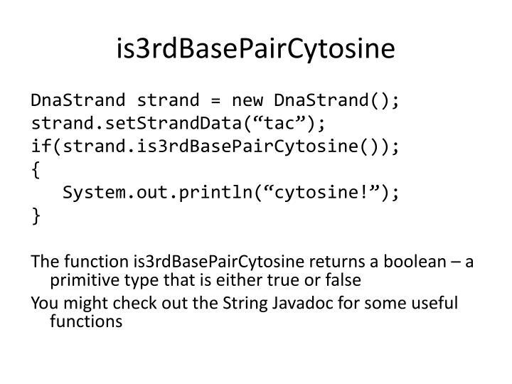 is3rdBasePairCytosine
