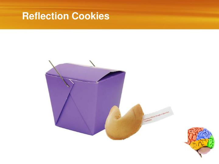 Reflection Cookies