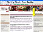 finding district data profiles1
