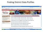 finding district data profiles4