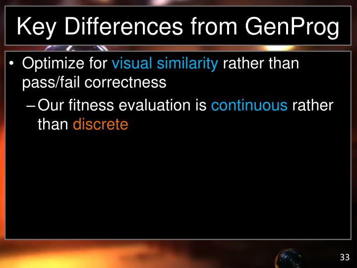 Key Differences from