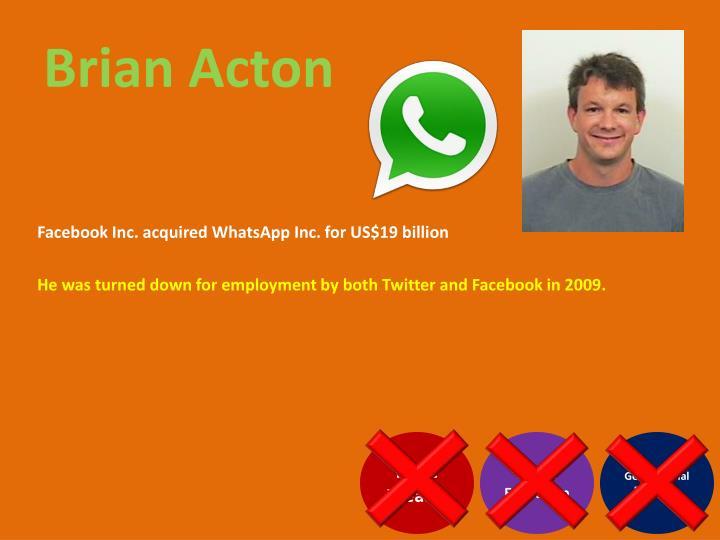 Brian Acton