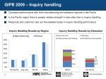gipb 2009 inquiry handling