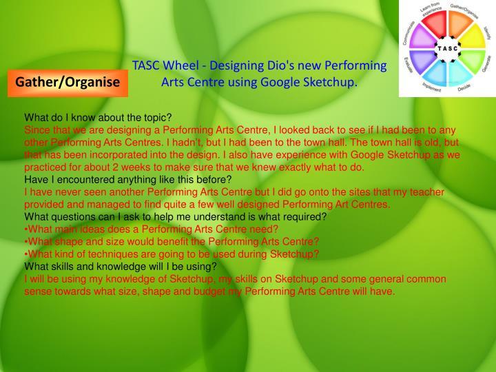 TASC Wheel - Designing