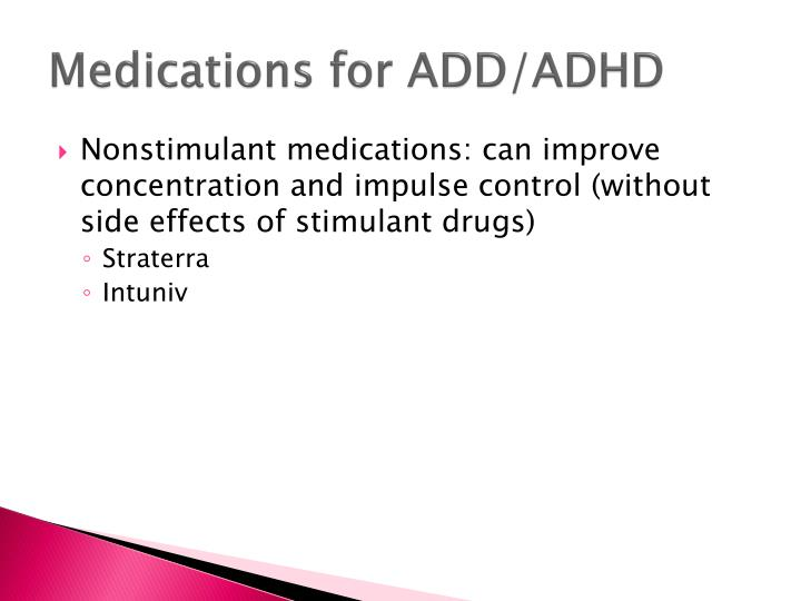 Medications for ADD/ADHD