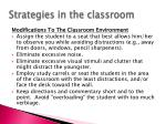 strategies in the classroom1