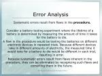 error analysis3
