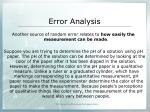 error analysis5
