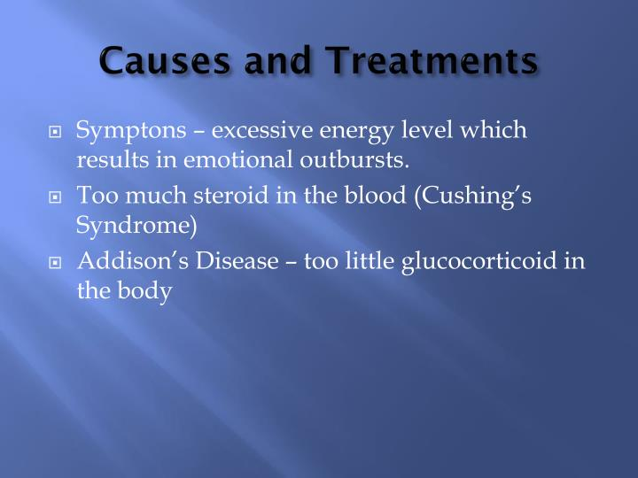 Causes and Treatments