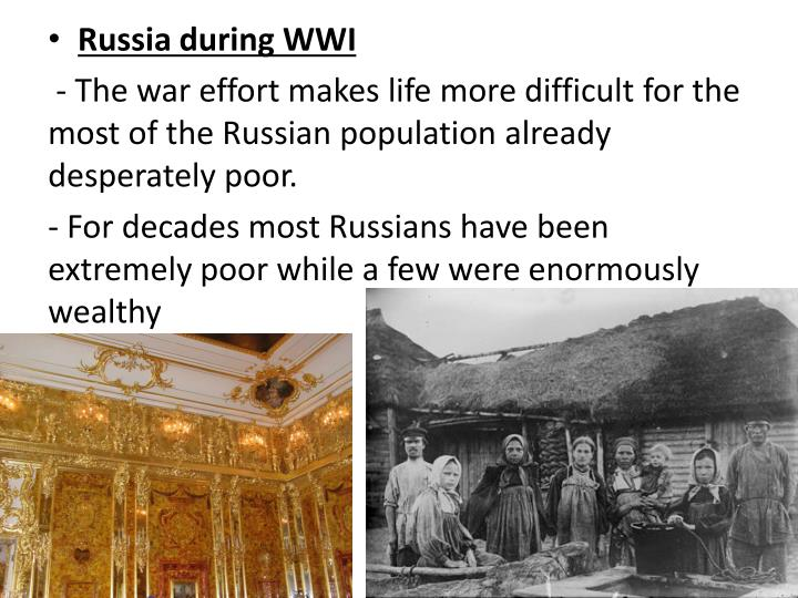Russia during WWI
