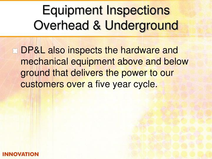 Equipment Inspections