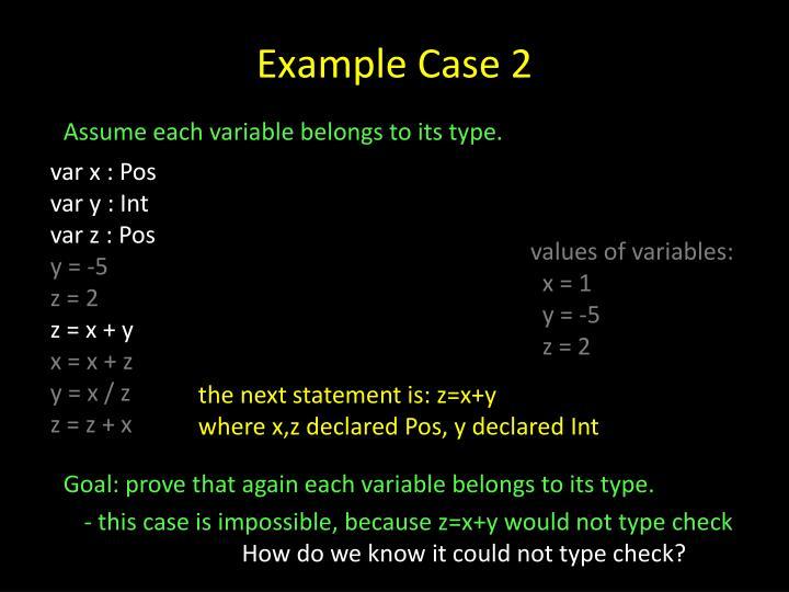 Example Case 2