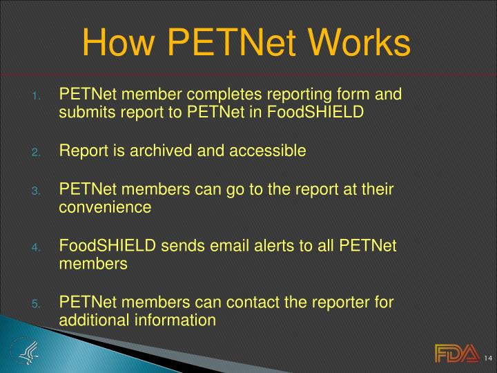 How PETNet Works